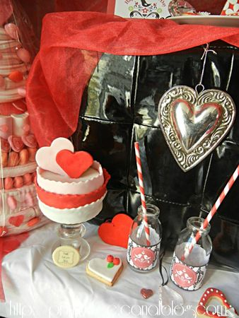 sweet table prunille fait son show st valentin
