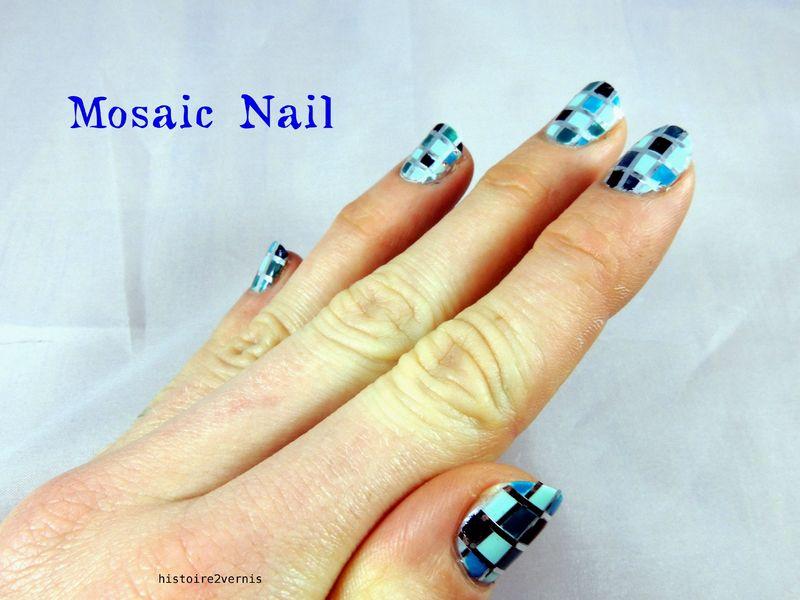 Mosaique bleu (2)