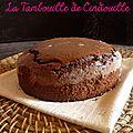 Gateau chocolat noisette
