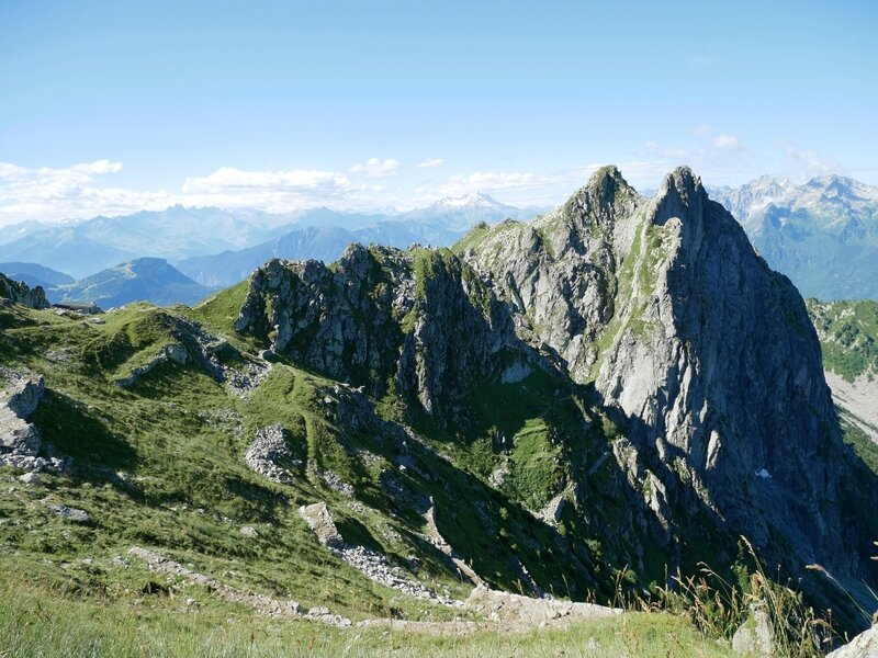 Col de Montjoie et Roche Benite