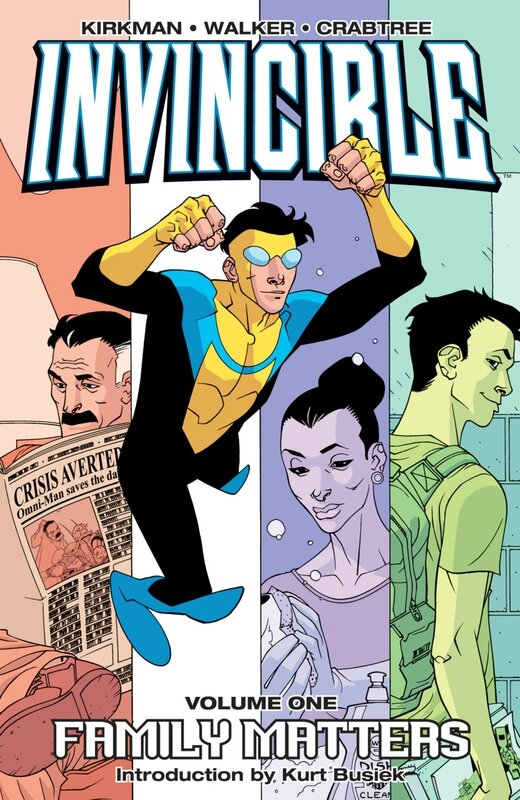 invincible vol 1 family matters TP