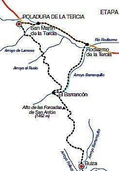 cartographie Buiza - Poladura de la Tercia