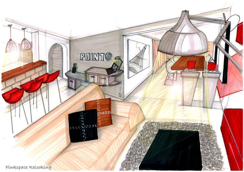 Relooking suite parentale zen 77 pinkspace audrey for Salle a manger dessin anime