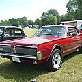 Mercury cougar 2door hardtop 1968