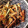 Des frites, oui, mais des frites de courgettes !