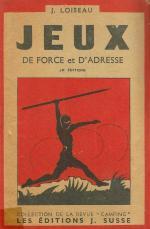Jeux de force et d'adresse - Jean Loiseau 1943