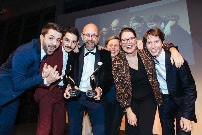 European-excellence-awards-Frederic Fougerat - Team Elior Group