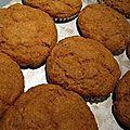 Muffins citrouille-épices sans gluten