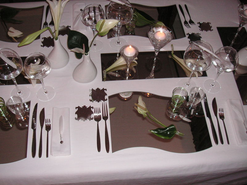 Deco de table reveillon st sylvestre photos de conception de maison duyfr - Deco table reveillon ...