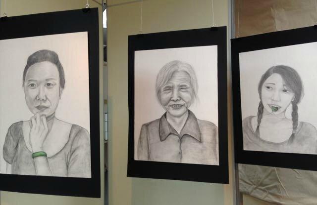 trois portraits