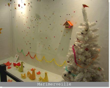 Noël en papiers japonais by Adeline Klam