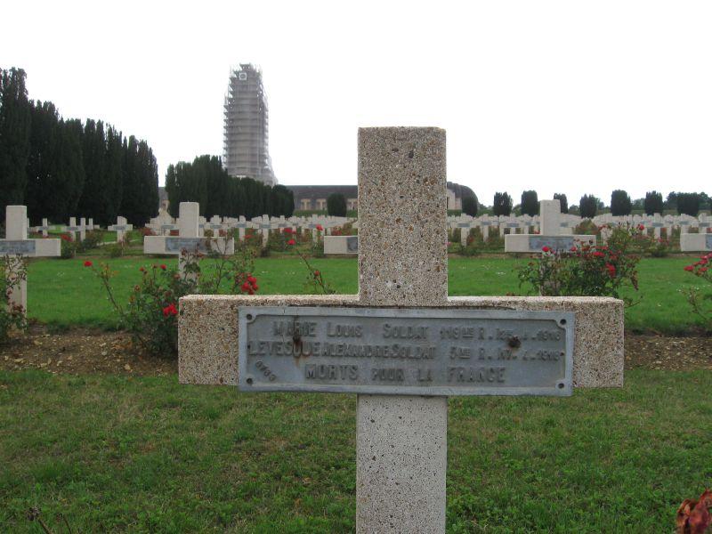 Lillebonne, Levesque Alexandre, NN Fleury Douaumont (Meuse)