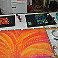 Peinture sur soie