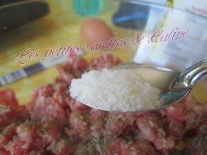 Boulettes de chair à saucisse au miel et au thym10