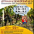 Trail des coteaux de sadirac 24/09/2017