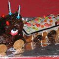 Le gâteau train de Tchoucke