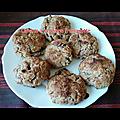 Cookies aux pépites de chocolat au lait