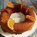 savarin à l'orange