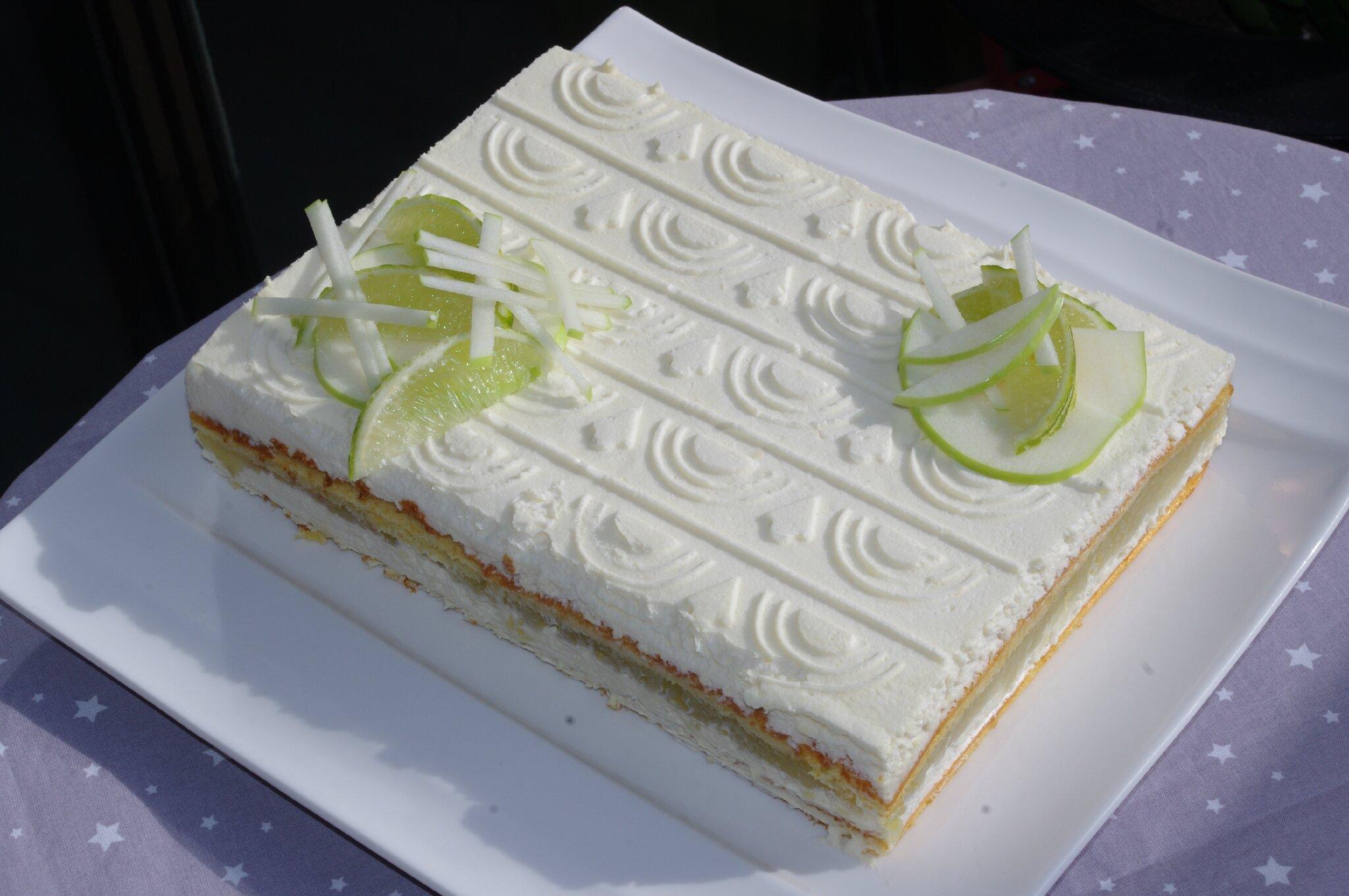Entremet pomme verte flexi delice for Chambre 13 vanille et citron