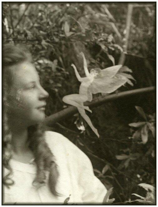 3e photographie. Frances et le Saut de fée