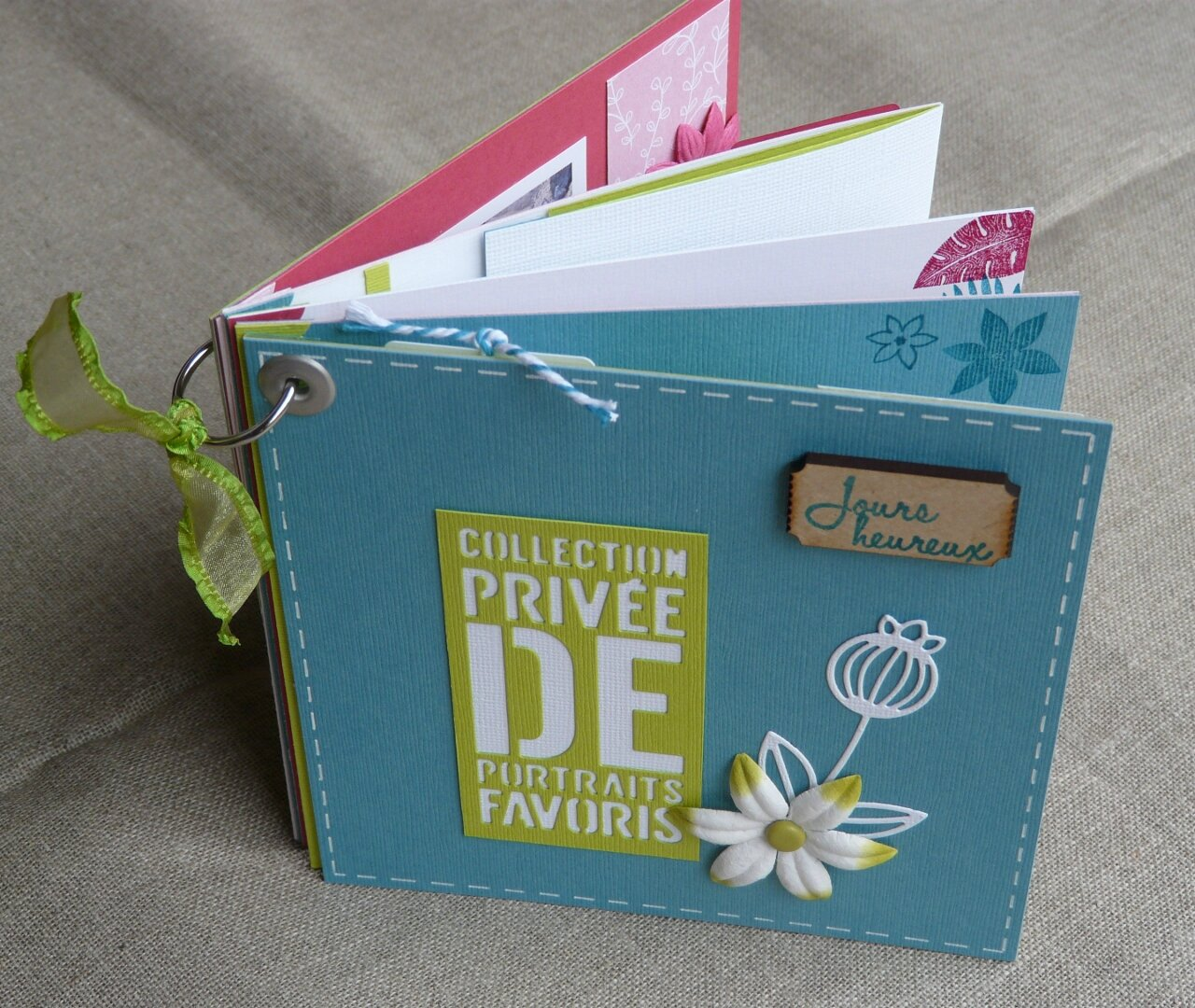 "MINI ALBUM ""COLLECTION PRIVÉE DE PORTRAITS FAVORIS"""