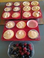 Muffins super moelleux aux fruits rouges 047