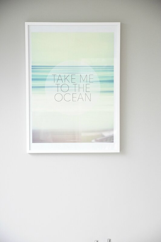 affiche take me to the ocean