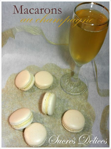 macarons champagne 2