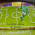 Cookie terrain de foot asse