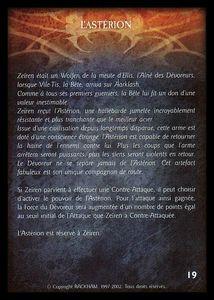Zeïren - asterion (artefact)