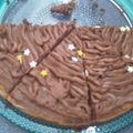 Le gâteau d'anniversaire.