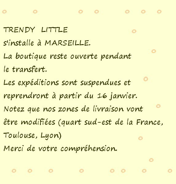 déménagement de TRENDY LITTLE