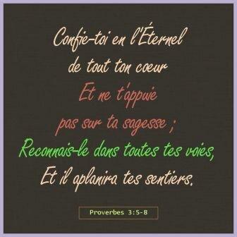 Confie-toi en l-Eternel(1)