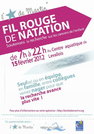 Affiche Natation