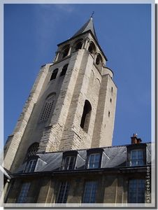 Clocher_de_l__glise_saint_germain_des_pr_s