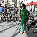 Vélo, lookée vert_9801