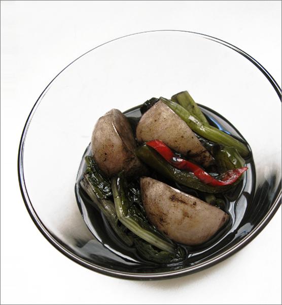 Kimchi encre seiche