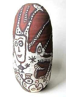 BAUDOUIN Vase décoré 1999 photo 3