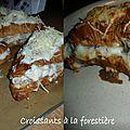Croissants à la forestière
