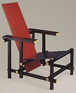 Design moi une chaise - Chaise rouge et bleue ...