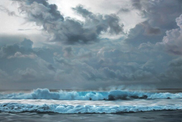 Pastel-Icebergs-by-Zaria-Forman-10-640x431