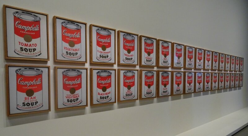 Andy Warhol Boîtes de soupe Campbell 1962