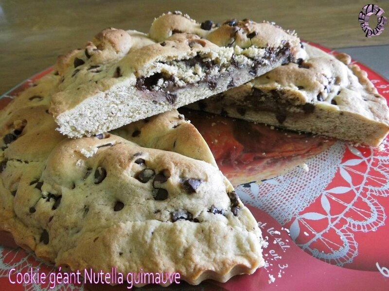 0424 Cookie géant Nutella guimauve 2