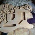 Guitare telecaster sculptee...