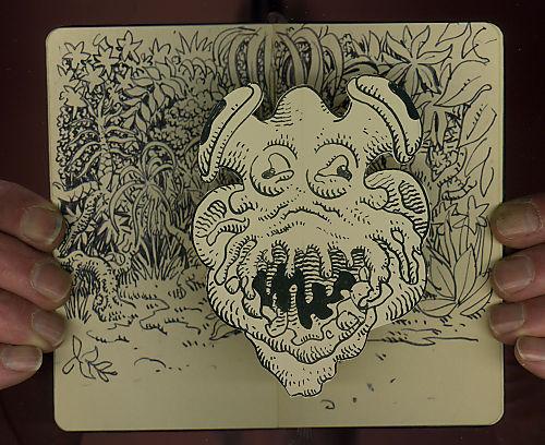 Moleskine de Jim Woodring