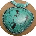 pendentif turquoise