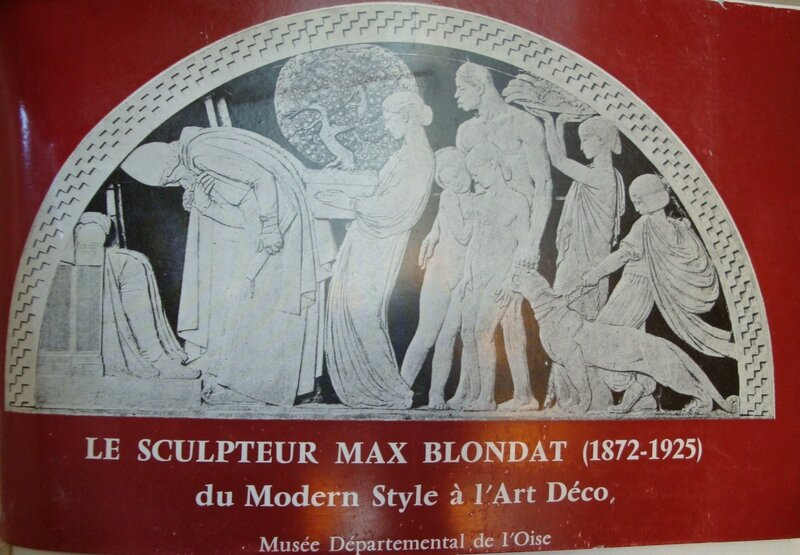 Le Sculpteur Max Blondat Book Cover