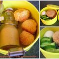 Lunchbox #4 'sudoise', smoothie et rochers  la noix de coco
