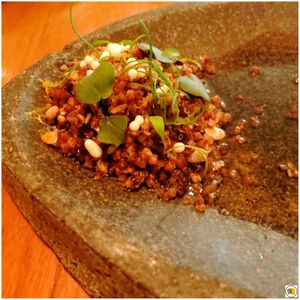 Grains & Seeds, Dashi, Yuzu Kosho