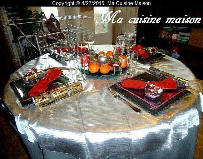 table noel 2012